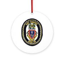 USS Chafee DDG 90 Ornament (Round)