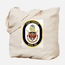 USS Shoup DDG 86 Tote Bag
