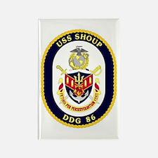 USS Shoup DDG 86 Rectangle Magnet