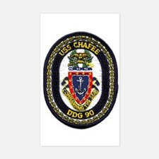 USS Chafee DDG 90 Rectangle Decal