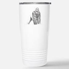 Tatu gorilla portrait Stainless Steel Travel Mug