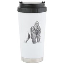 Tatu gorilla portrait Travel Mug