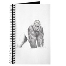 Tatu gorilla portrait Journal