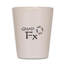 Unique Quads Shot Glass