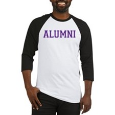 Alumni Purple Baseball Jersey