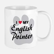 Love My English Pointer Mug