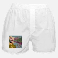 Vintage China Yangtsze Gorges Boxer Shorts