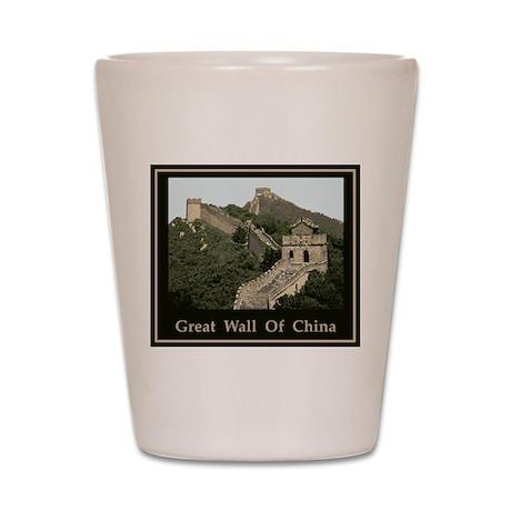 Great Wall Of China Shot Glass