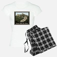 Great Wall Of China Pajamas