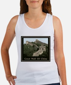 Great Wall Of China Women's Tank Top