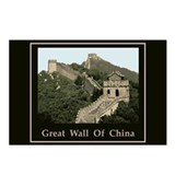 Great wall of china Postcards