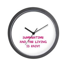 Wall Clock-For Summertime