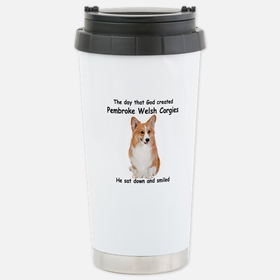 Corgi Stainless Steel Travel Mug