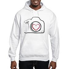 I Heart Photography Jumper Hoodie