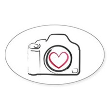 I Heart Photography Decal