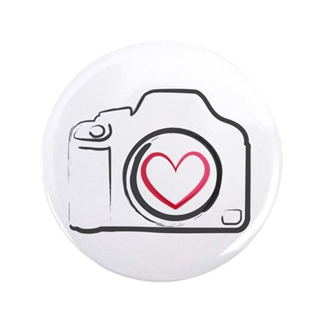 """I Heart Photography 3.5"""" Button"""