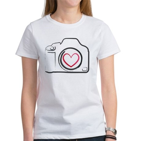 I Heart Photography Women's T-Shirt