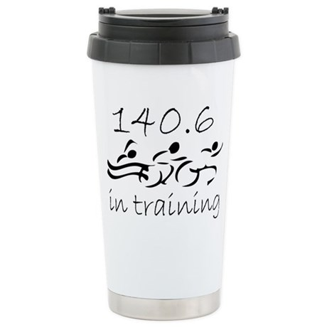140.6 In Training Stainless Steel Travel Mug