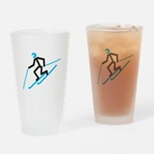 Tele Stick Man Drinking Glass