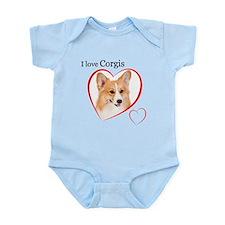 I Love Corgis #2 Onesie