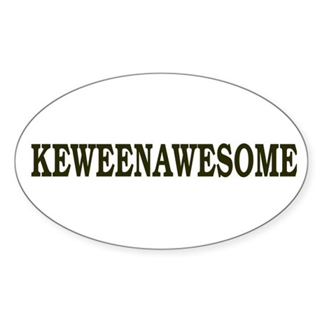 Keweenawesome! Sticker (Oval 10 pk)