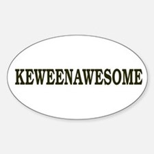 Keweenawesome! Sticker (Oval)