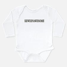 Keweenawesome! Long Sleeve Infant Bodysuit