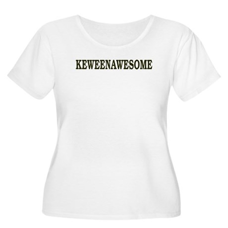 Keweenawesome! Women's Plus Size Scoop Neck T-Shir