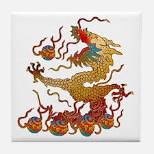 Playful Dragon Tile Coaster