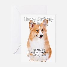 corgi greeting cards  card ideas, sayings, designs  templates, Birthday card