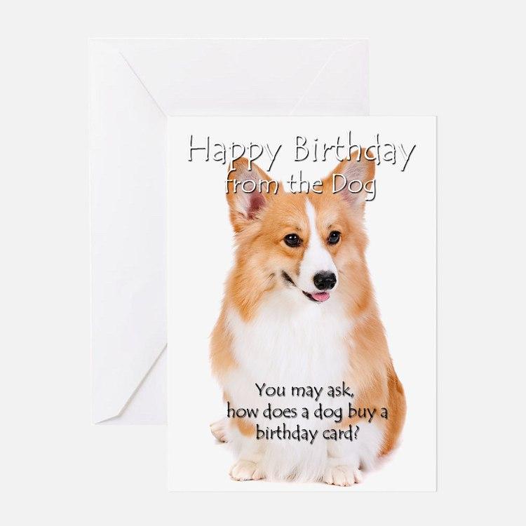 From the Corgi Birthday Card