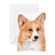 Funny Pembroke Corgi Card