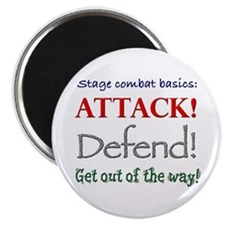 "Stage combat basics - 2.25"" magnet (10 pack)"