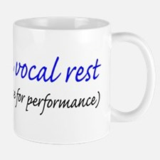 Vocal rest mug