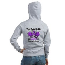 Fight Pancreatic Cancer Zip Hoodie