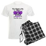 Fight Pancreatic Cancer Men's Light Pajamas