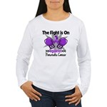Fight Pancreatic Cancer Women's Long Sleeve T-Shir