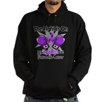Fight Pancreatic Cancer Hoodie (dark)