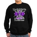 Fight Pancreatic Cancer Sweatshirt (dark)