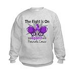 Fight Pancreatic Cancer Kids Sweatshirt