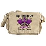 Fight Pancreatic Cancer Messenger Bag