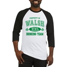 Walsh Irish Drinking Team Baseball Jersey