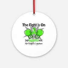Fight Non-Hodgkins Lymphoma Ornament (Round)