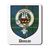 Duncan family crest Mouse Pads