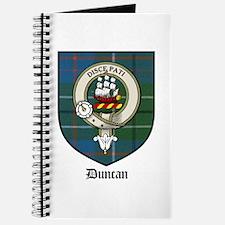 Duncan Clan Crest Tartan Journal