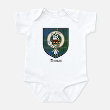Duncan Clan Crest Tartan Infant Creeper