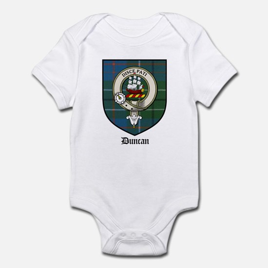 Duncan Clan Crest Tartan Infant Creeper