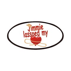 Jimmie Lassoed My Heart Patches