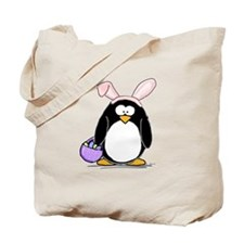 Easter penguin Tote Bag