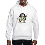 Artist penguin Hooded Sweatshirt